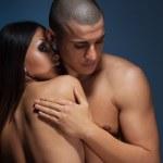 Naked couple — Stock Photo