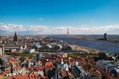 Cityscape of old Riga — Stock Photo