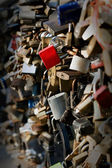 Wedding padlocks — Stock Photo