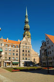Riga townhall — Stock Photo