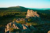 南ウラルの最高峰を表示します。 — ストック写真