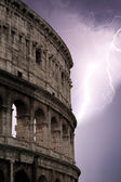 Coliseum during the storm — Stock Photo