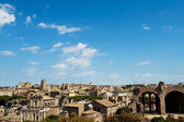 Roman forum panorama — Photo