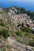 Taormina sicílie, itálie — Stock fotografie