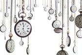 Many pocket watches — Stock Photo
