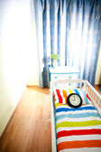 Nursery room await born of child — Stock Photo