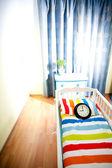 Nursery room await born of child — Stock Photo