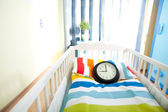 Expecting child room ready for newborn — Stock Photo