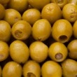 Close-up pattern of olives — Stock Photo #5858244