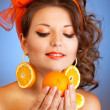 Who but me love citruses — Stock Photo #5858551