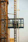 Elevador de construção — Fotografia Stock
