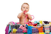 Baby's fashion — Stock Photo