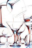 Muitos copos — Foto Stock