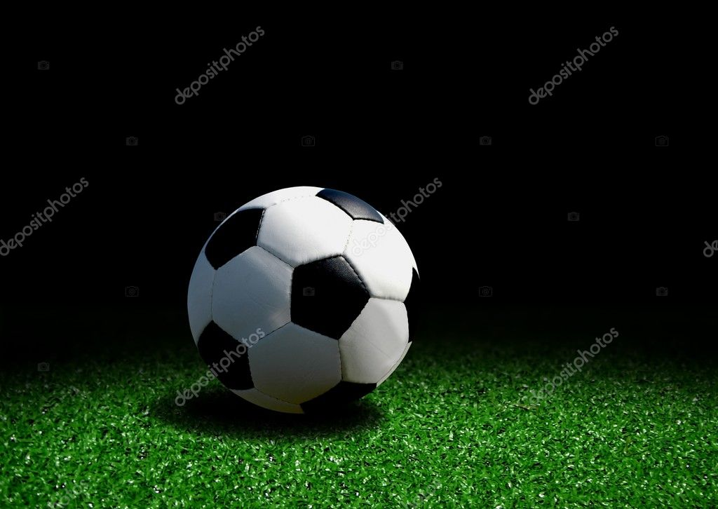 Gallery For > Soccer Ball On Grass