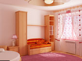 Interior children's room — Stock Photo
