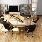 Modern interior of office — Stock Photo #5531948