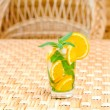 Glass of limonade on table — Stock Photo #6005146