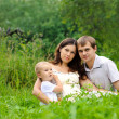 Family on the nature — Stock Photo #6295933