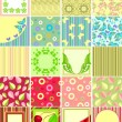Stock Vector: Scrapbook backgrounds