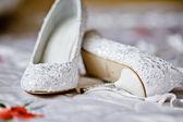 新娘鞋 — 图库照片