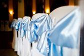 Wedding chairs elegantly decorated — ストック写真