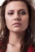 Woman closeup face — Stock Photo