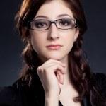 Beautiful businesswoman posing — Stock Photo