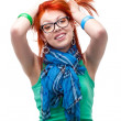 Red haired girl - Stockfoto