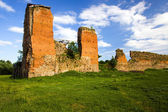 Ruins of the ancient castle — Stock Photo