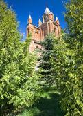 Oude katholieke kerk — Stockfoto