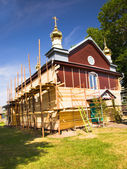 Church restoration — Stock Photo