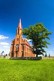 乙女の上昇の教会マリア — ストック写真