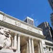 New York Public Library - Stock Photo
