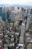 Manhattan North Aerial View — Stock Photo