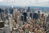 Aerial View of the Big Apple — Stock Photo