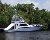 Sportfishing Boat — Stock Photo