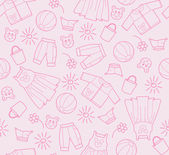 Baby background — Vector de stock