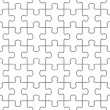Puzzle seamless — Vector de stock