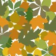 Color leafs seamless — Wektor stockowy #6464242