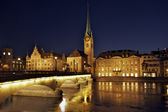 Zurich Fraumunster — Stock Photo