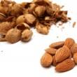 Almond kernels — Stock Photo
