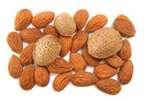 Almonds isolated — Stock Photo