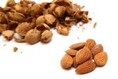 Almond kernels — Stock Photo