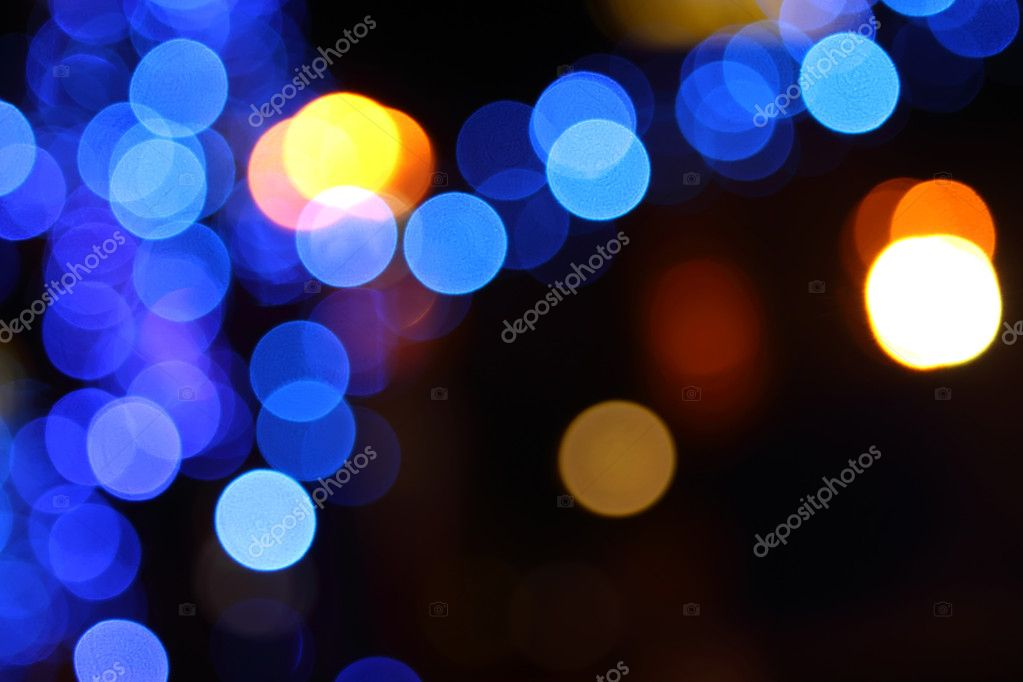 Abstract holiday background of multi-colored lights. Photo  Stock Photo #5383077