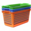 Stock Photo: Plastic container basket