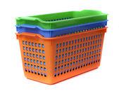 Plastic container basket — Stock Photo