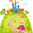 Princess — Stock Vector #5631550