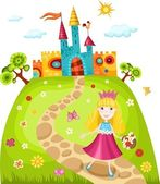 Princess — Stock Vector
