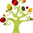 Easter tree — Stock Vector #5732594
