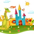 Royalty-Free Stock Vector Image: Dragon